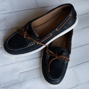 Sperry Top-Sider Boat Shoe Black Size 9